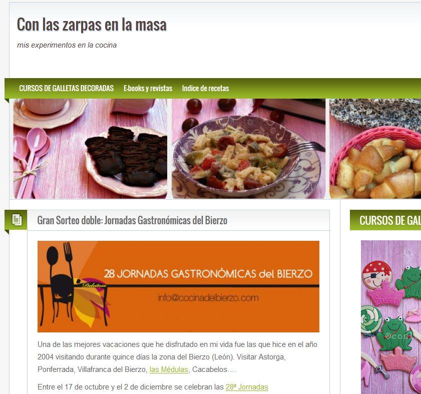 Cocina del bierzo for Blog cocina wordpress