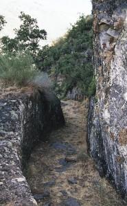 Las Médulas - Canal romano